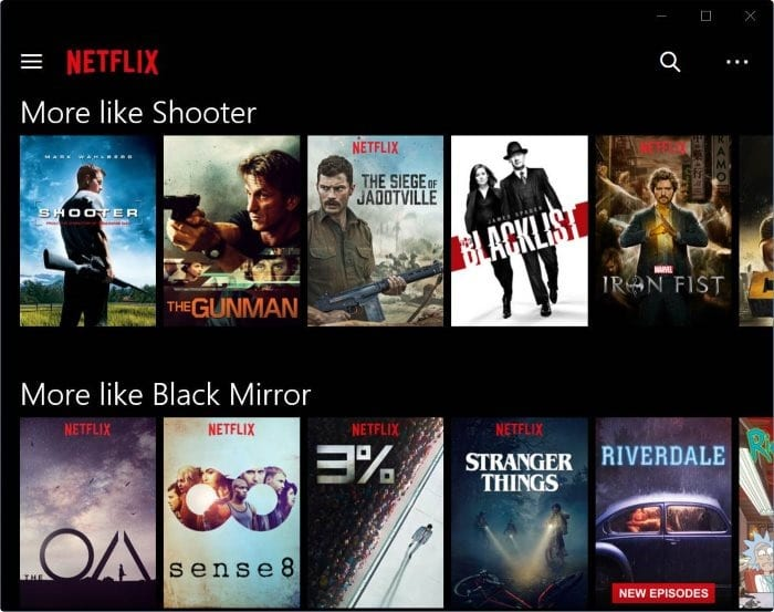 download Netflix movies and TV shows on Windows 10 pic2