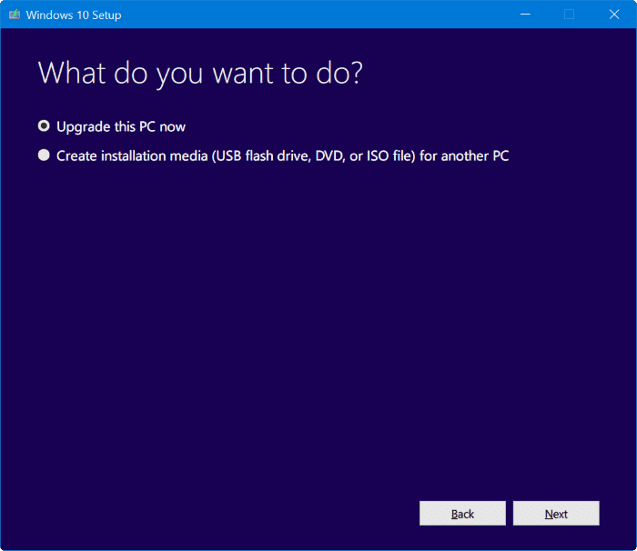 install Windows 10 Creators Update right now pic1