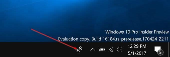 add or remove people bar from Windows 10 taskbar pic01