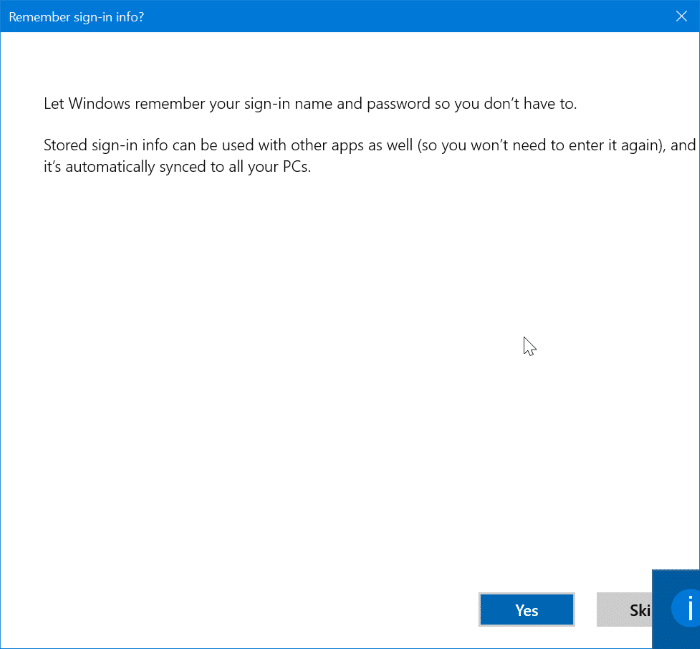 add yahoo mail account to Windows 10 mail step10