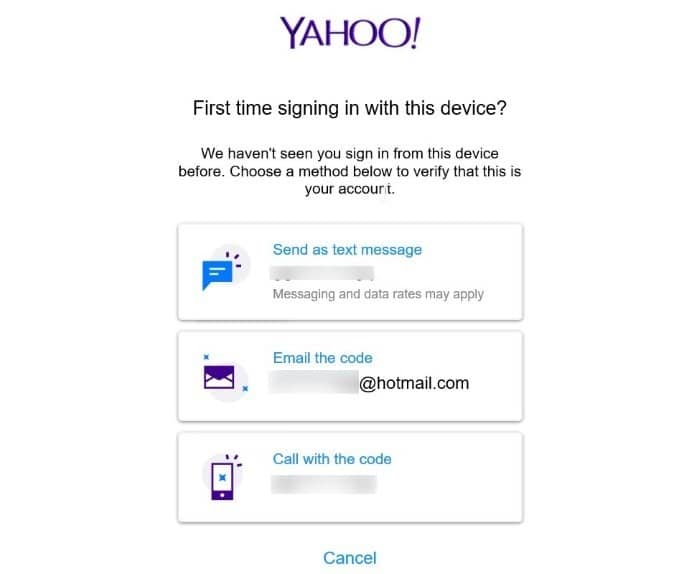 add yahoo mail account to Windows 10 mail step7