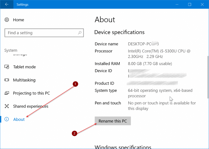 change bluetooth name in Windows 10 pic5