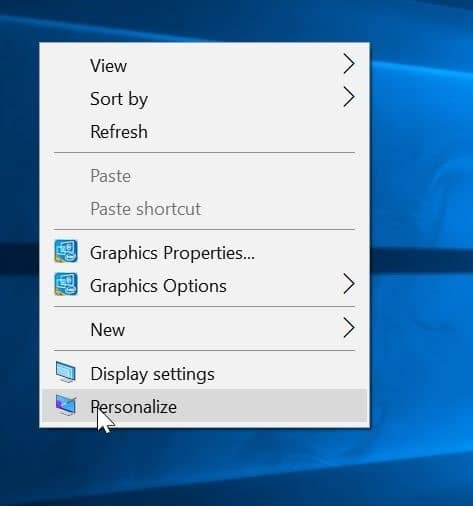 change desktop icons in Windows 10 pic1