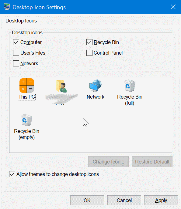 how to change desktop settings in windows 7