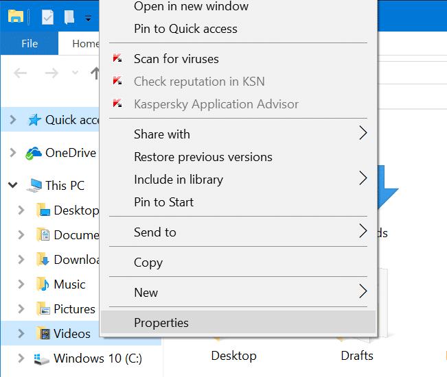 change game dvr captures folder location in windows 10 pic1