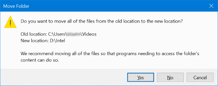 change game dvr captures folder location in windows 10 pic4
