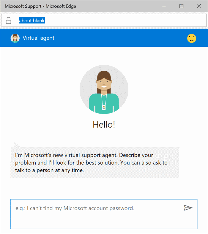 chat with Microsoft support online pic3