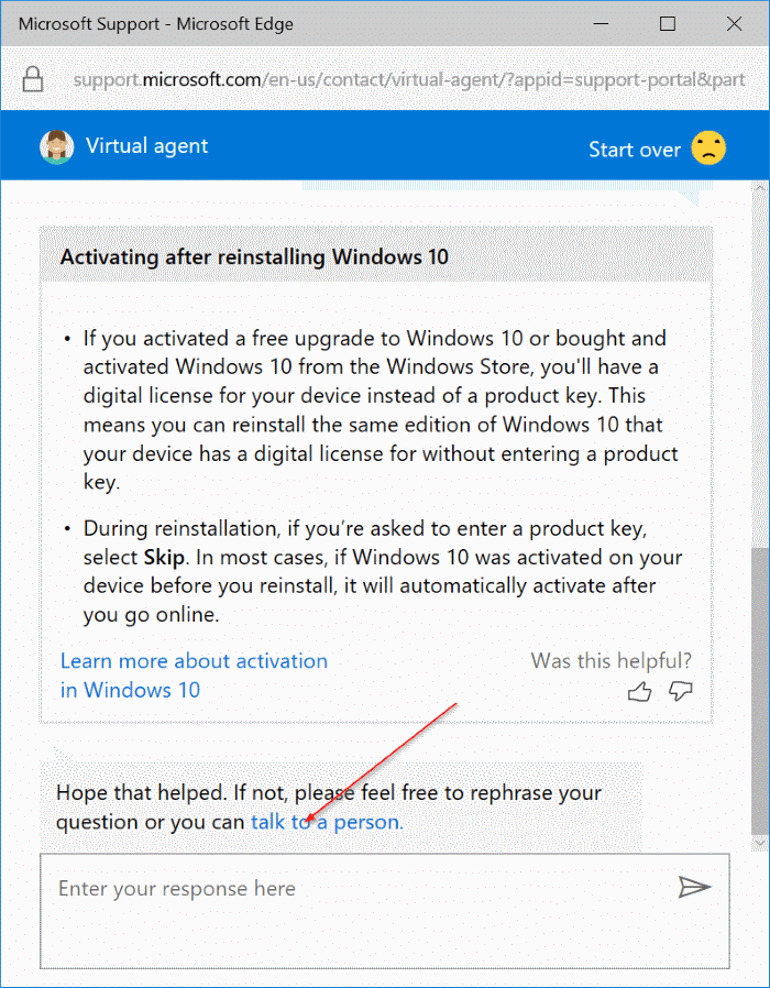 chat with Microsoft support online pic4