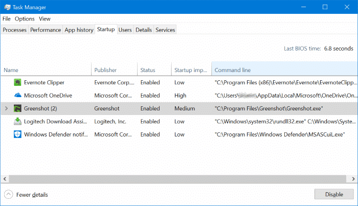 open the location of startup programs in windows 10 pic4