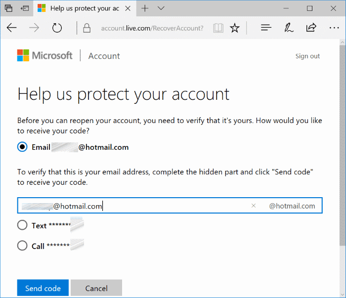 reopen closed Microsoft account pic2