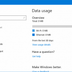 Reset Data Usage: Tool To Reset Network Data Usage In Windows 10