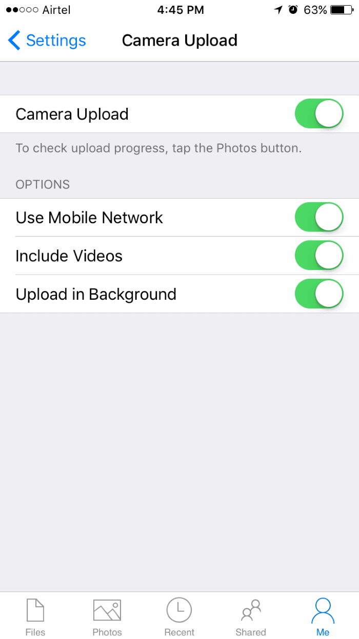 automatically backup iphone photos to Windows 10 PC pic3