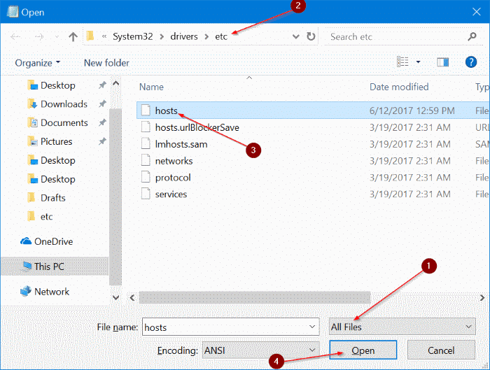 block websites on Windows 10 pic3