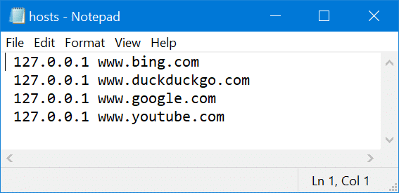 block websites on Windows 10 pic4