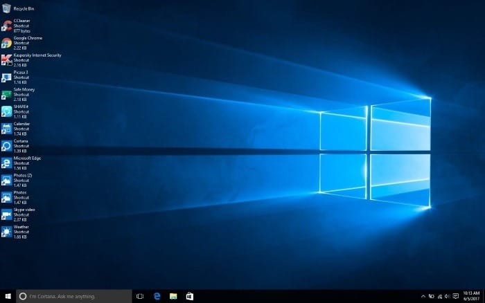 How To Change Desktop Icons View In Windows 10