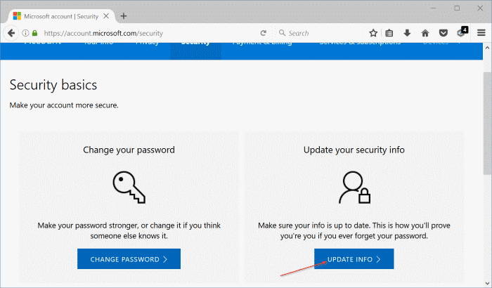 How To Change Your Microsoft Account Phone Number