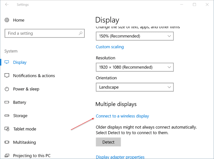 check if your Windows 10 PC supports miracast pic6