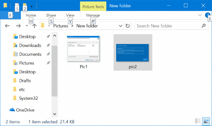 convert jpeg and png pictures to pdf in windows 10