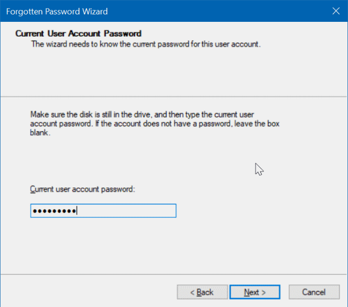 create windows 10 password reset disk on usb pic6
