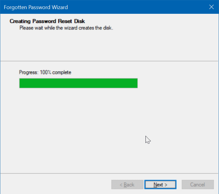 create windows 10 password reset disk on usb pic7