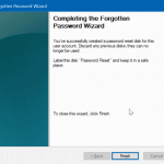 How To Create Windows 10 Password Reset Disk On USB Drive