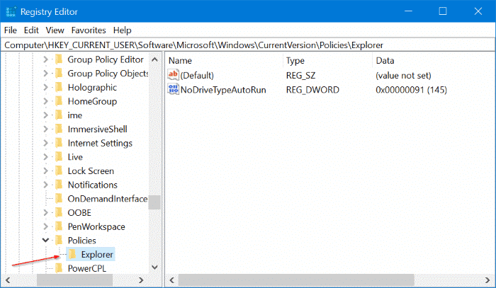 enable or disable settings in Windows 10 pic4