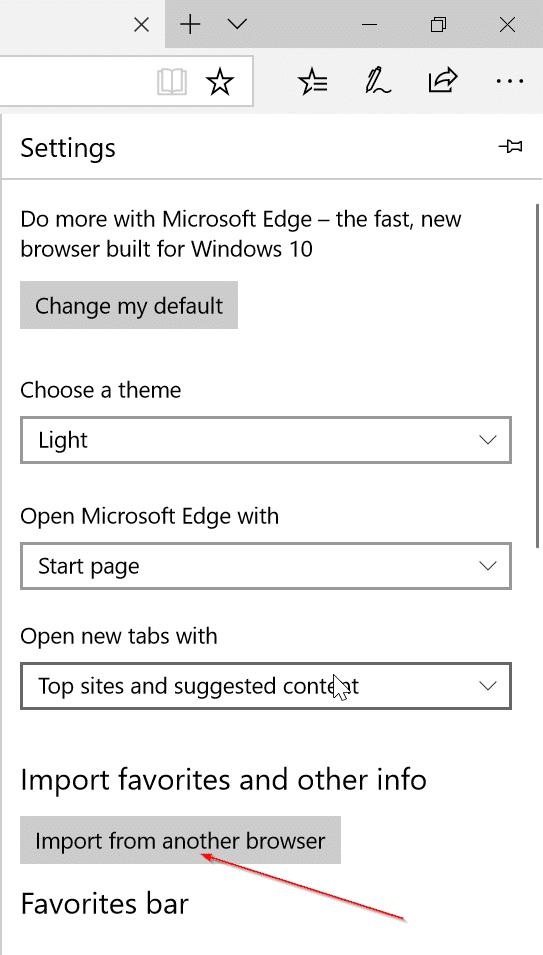 How To Import Chrome Passwords Into Edge In Windows 10