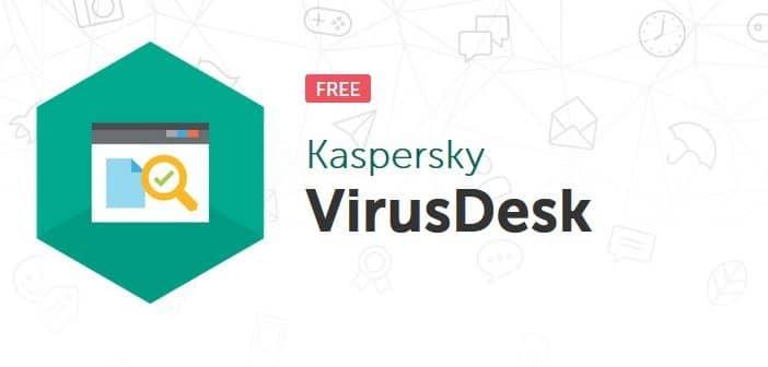 kaspersky virusdesk scan files online using kaspersky