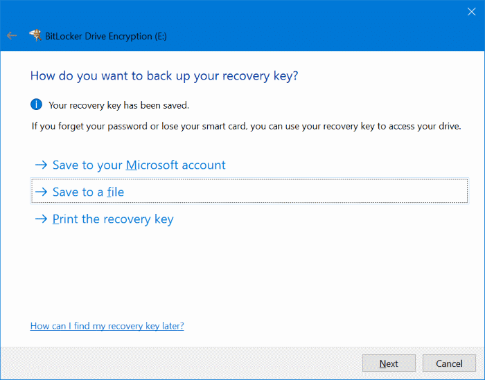 password protect USB drives in Windows 10 pic3