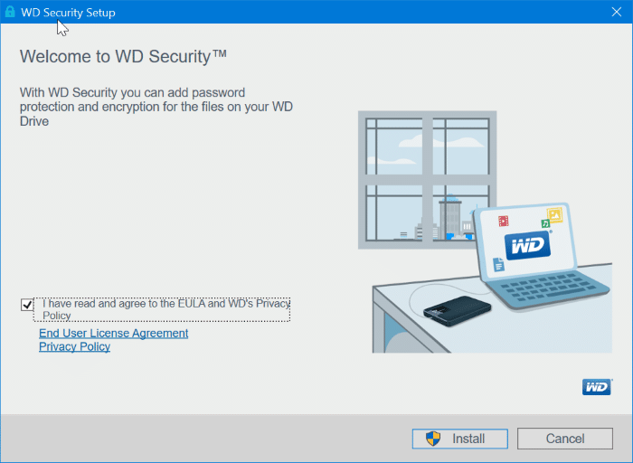 How To Password Protect Western Digital External Hard Drive