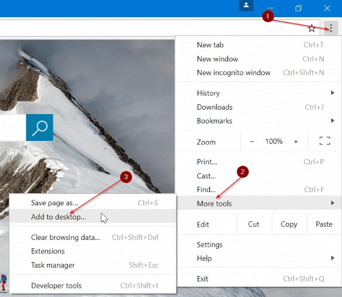 pin websites to taskbar in Windows 10 pic1