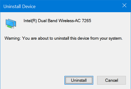 reinstall WiFi driver in Windows 10 pic4