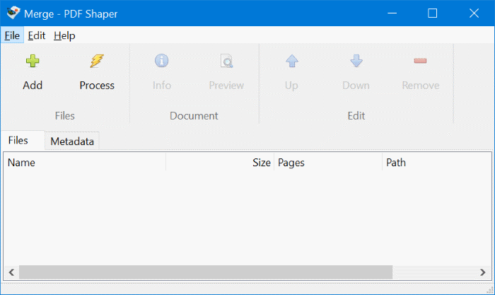 combine or merge pdf files in Windows 10 free pic1.2