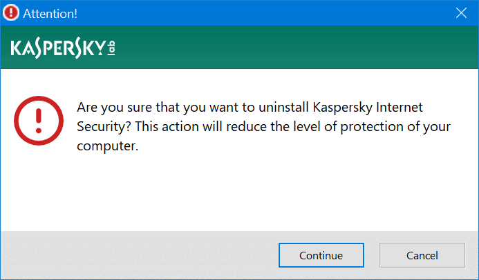 reinstall kaspersky without losing activation license code pic3