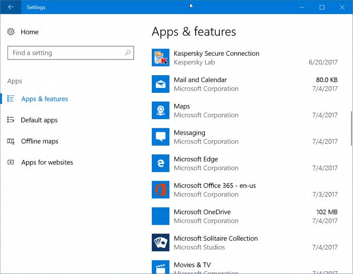 reset Microsoft Edge in Windows 10 easy way pic1