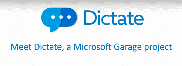 dictate speech recognition for Word powerpoint outlook