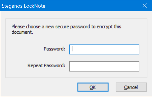 password protect text file in Windows 10 pic5