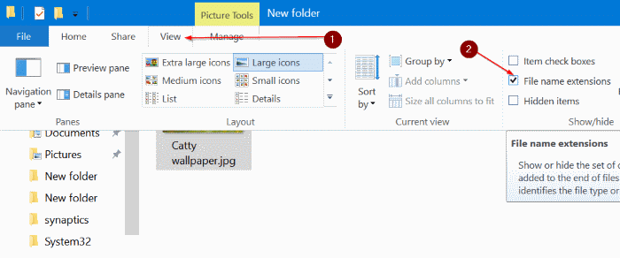 change folder picture in Windows 10 pic3.2