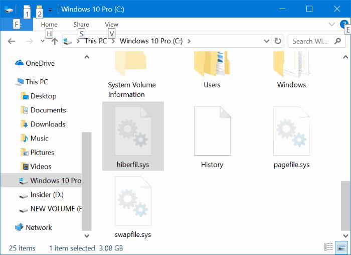 How To Delete Hiberfil.sys (Hibernation) File In Windows 10