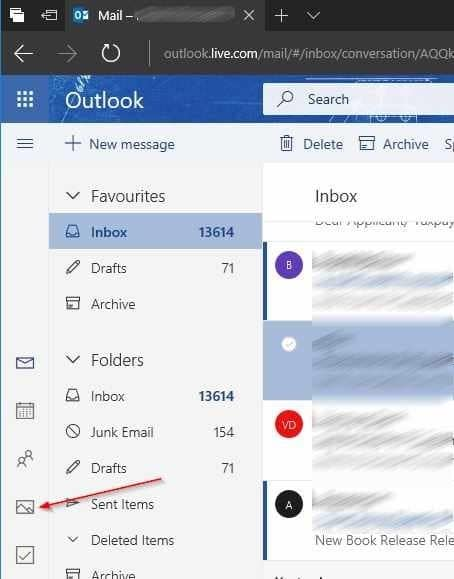 download all sent and received photos in outlook.com pic1