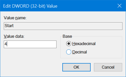 enable or disable USB drives in Windows 10 pic2