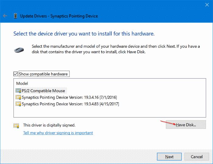 Elan Touchpad Driver Windows 10 Toshiba