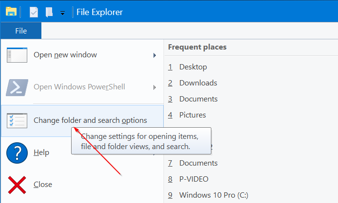 pin quick access to the taskbar in Windows 10 pic3
