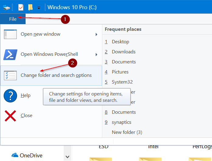 how to forcibly delete a folder windows 10