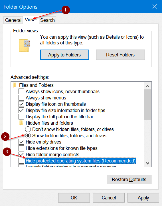 safely delete $sysreset folder in Windows 10 pic2
