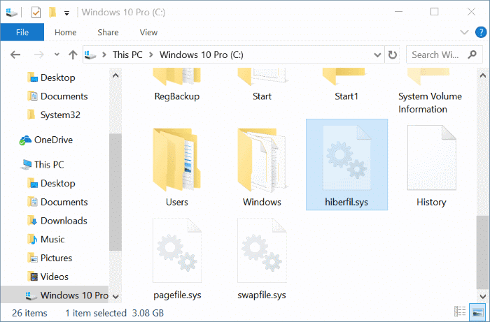 ways to free up drive space in Windows 10 pic2