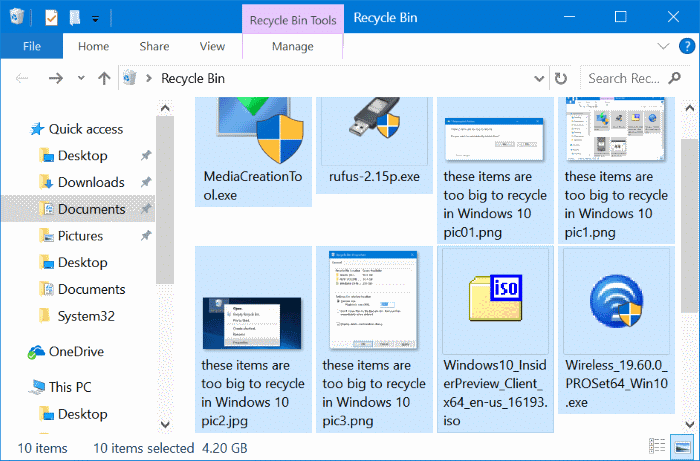 ways to free up drive space in Windows 10 pic6