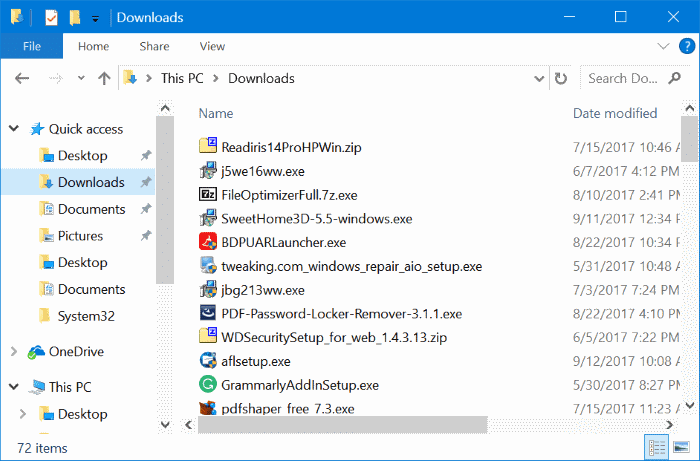 ways to free up drive space in Windows 10 pic8