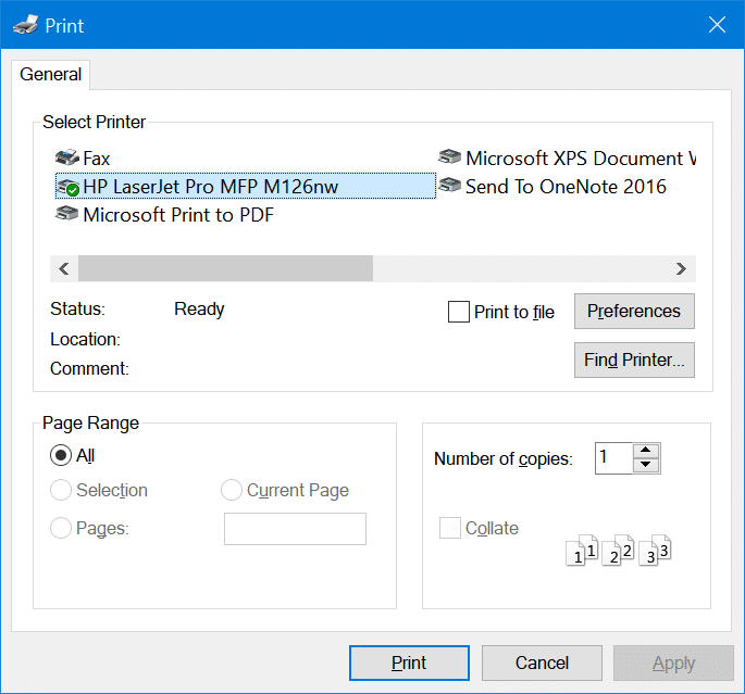 Add wireless printer to Windows 10 PC (7)
