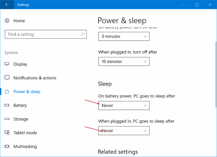 Enable or disable remote desktop in Windows 10 pic7
